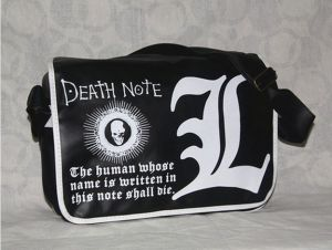 Аниме сумка Death Note Black ver.