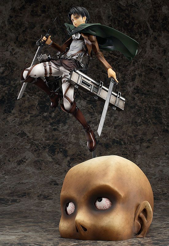 Фигурка Attack on Titan: Levi 1/8 Complete