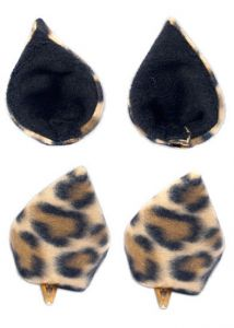 Ушки Sweet Kawaii Clip on Cat Ears - Leopard